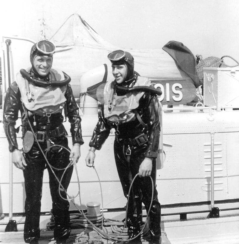 Plongeurs démineurs stage 06 à 08 en 1966 Papy_o13