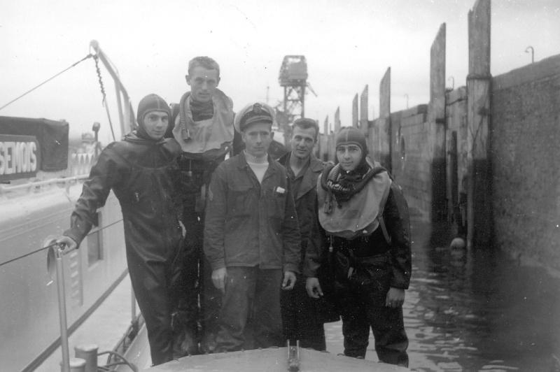 Plongeurs démineurs stage 06 à 08 en 1966 Papy_o14