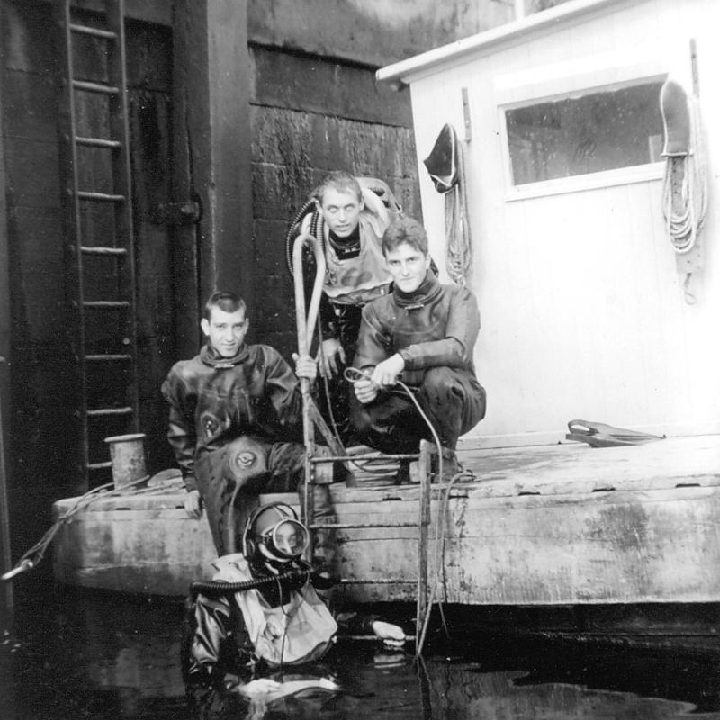Plongeurs démineurs stage 06 à 08 en 1966 Papy_o16