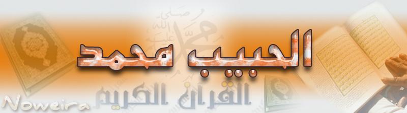 الحبيب محمد(صلى الله عليه وسلم)