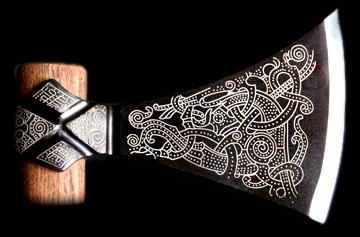 Armas y vestimenta vikinga Mammen10