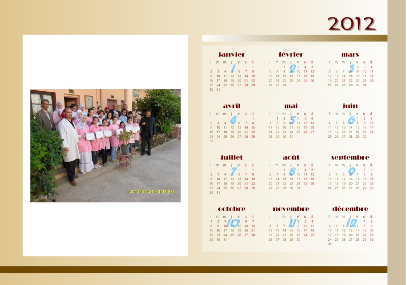 calendrier 2012 avec photo 1 2012_c10