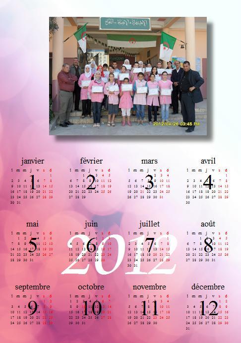 calendrier 2012 avec photo 2 Calend10