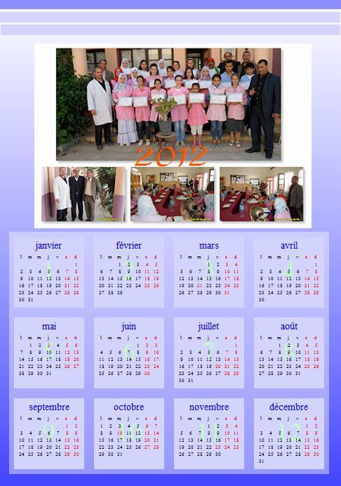 calendrier 2012 avec photo 5 Calend14