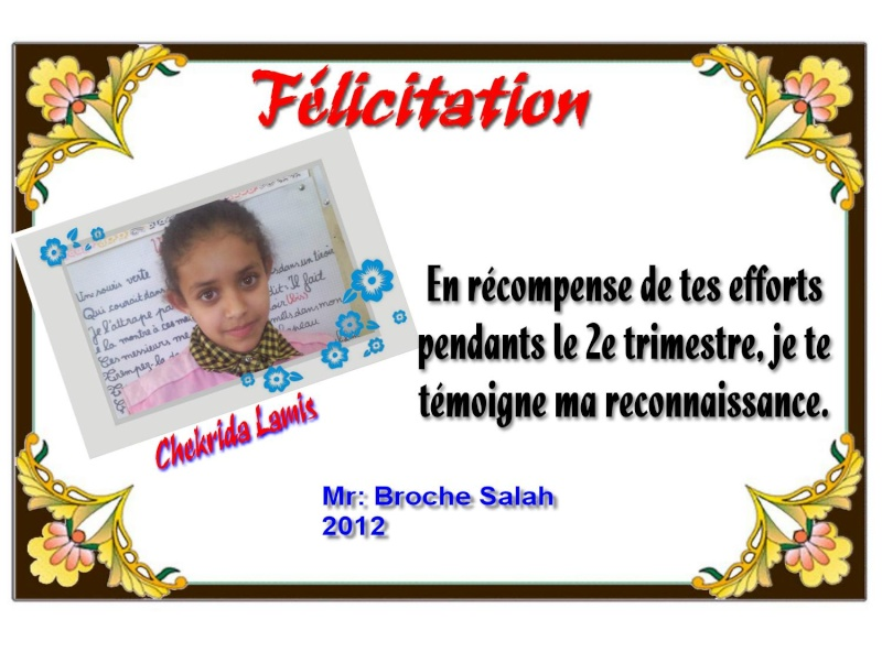 Certificat par Mr: Broche Salah 7 Chekri10