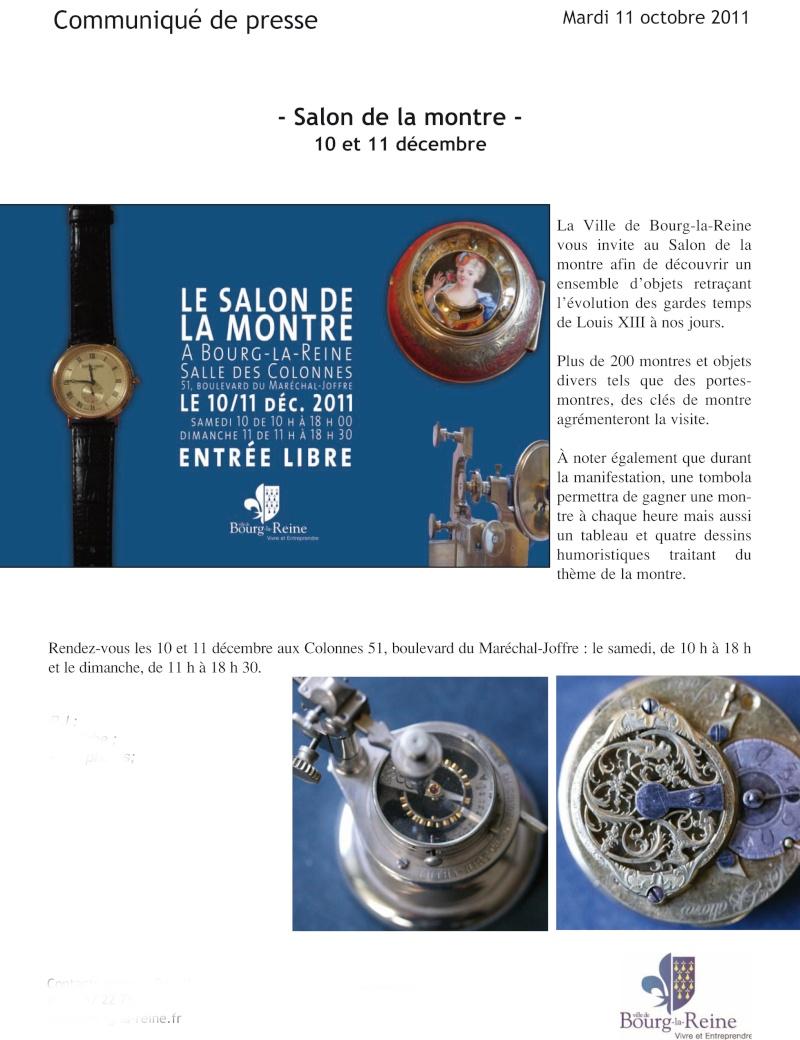 Salon de la montre Bourg La Reine (92), les 10 et 11 décembre 2011 Commun10