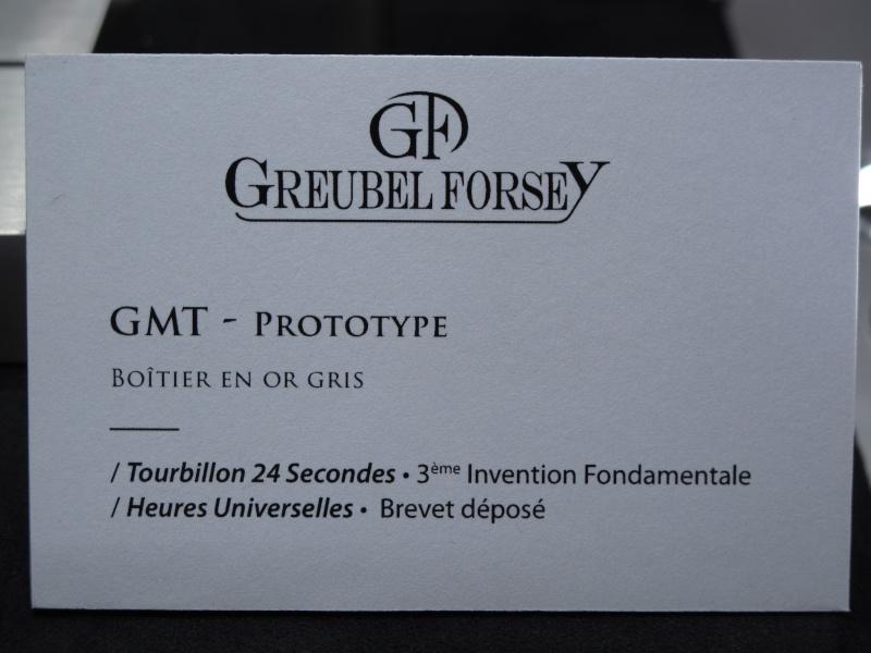 Un nouveau modèle chez Greubel Forsey, la GMT ! Img_5855