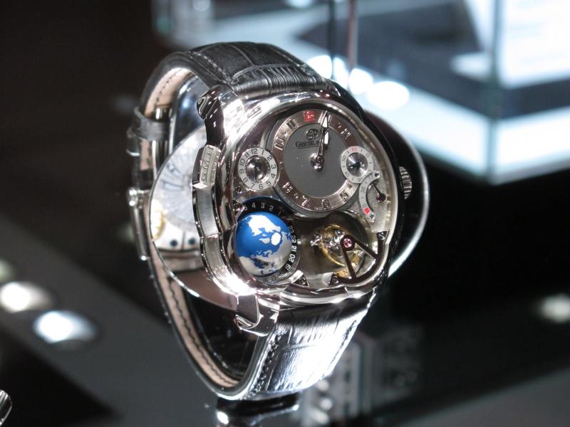 Un nouveau modèle chez Greubel Forsey, la GMT ! Img_5913