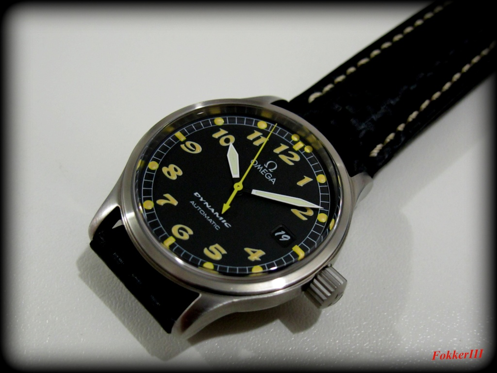 "Mon Omega Dynamic III, Date Only, "" Boule et Bill "" Omegad10"