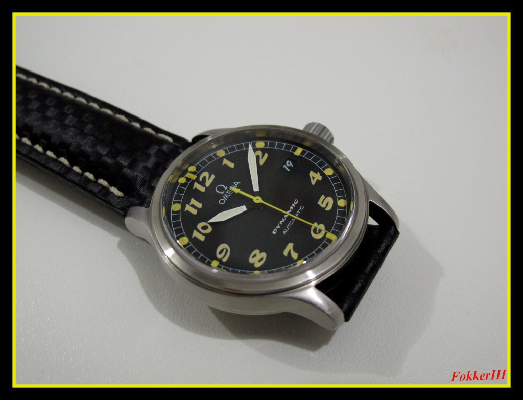 "Mon Omega Dynamic III, Date Only, "" Boule et Bill "" Omegad15"