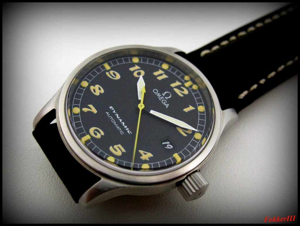 "Mon Omega Dynamic III, Date Only, "" Boule et Bill "" Omegad16"