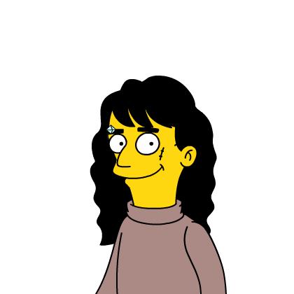 Tu caricatura Simpson Nahues10