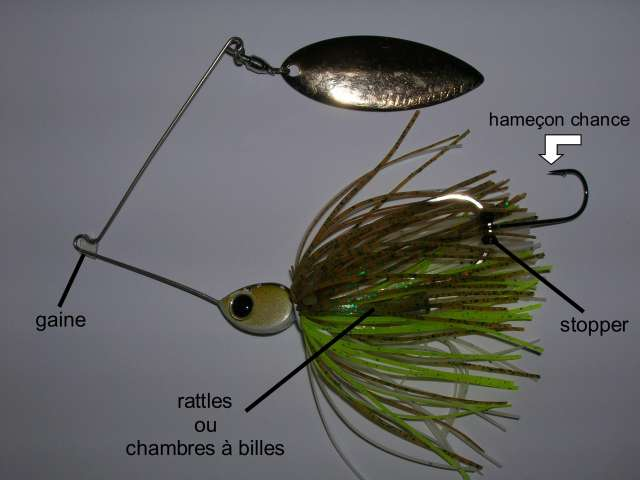 La pêche aux spinnerbaits 11953312