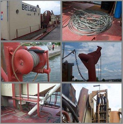 Projet de construction du Drageur Belgica Image310