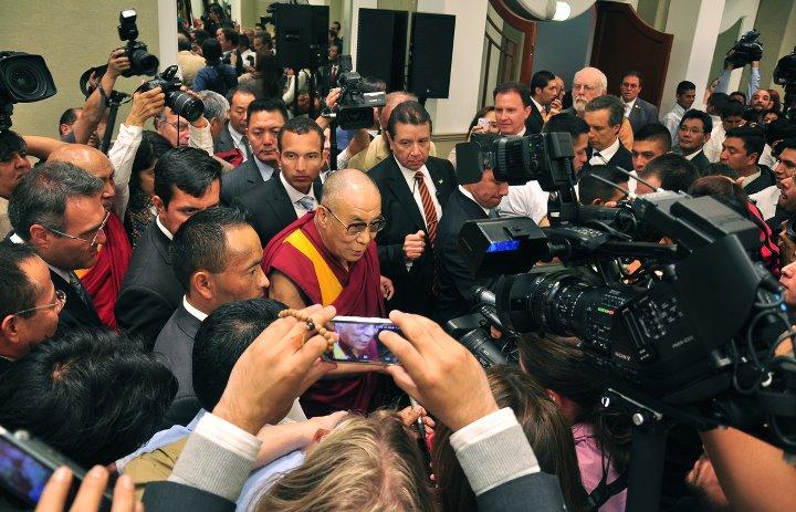 Sa Sainteté le Dalaï Lama au Mexique 30979610