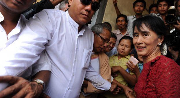 La Birmane Aung San Suu Kyi, âme vivante de la résistance 624_3410