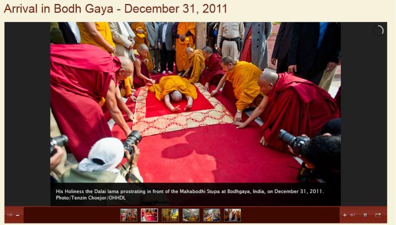 Kalachakra 2012 à Bodhgaya Dalail11