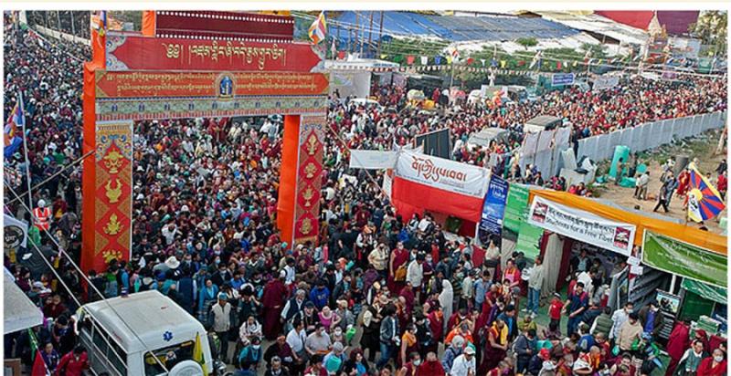 Kalachakra 2012 à Bodhgaya Dalail12