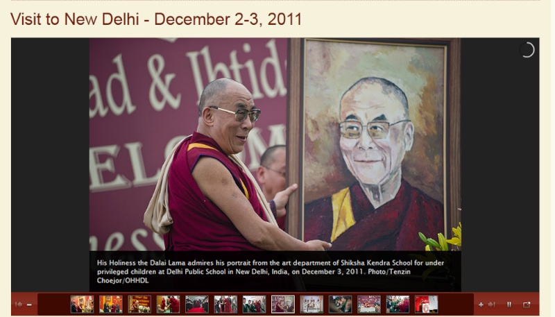 Kalachakra 2012 à Bodhgaya Dalail13