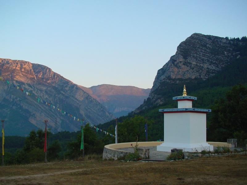 Jetsun Khandro Rinpoché à Nyima Dzong Dsc00010