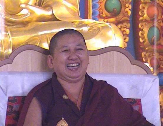 Jetsun Khandro Rinpoché à Nyima Dzong Jetsun10