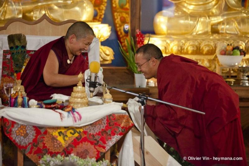 Jetsun Khandro Rinpoché à Nyima Dzong Jk410