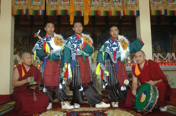 Le Tcham, Danse sacrée des Tibétains Maxi1410