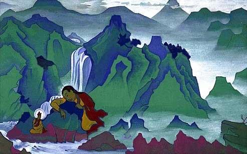 Nicholas Roerich ou découverte d'un grand peintre ésothérique Padmas10