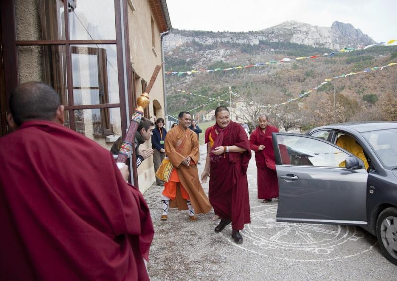RABJAM Rinpoché à Nyima Dzong en Novembre 2011 Rabjam10