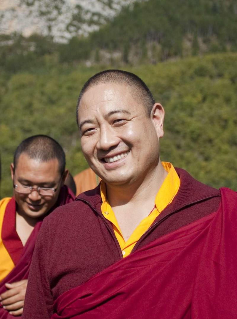 RABJAM Rinpoché à Nyima Dzong en Novembre 2011 Rabrin10