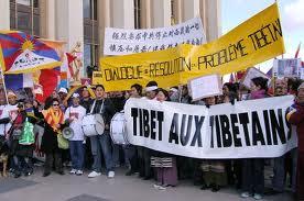 Manifestation pour le Tibet à Bruxelles Tibet10