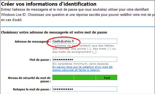 Utiliser MSN avec une adresse autre qu'Hotmail 8778-i10