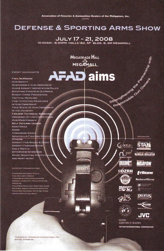 Event : Defense and Sporting Arms Show Gun_sh10