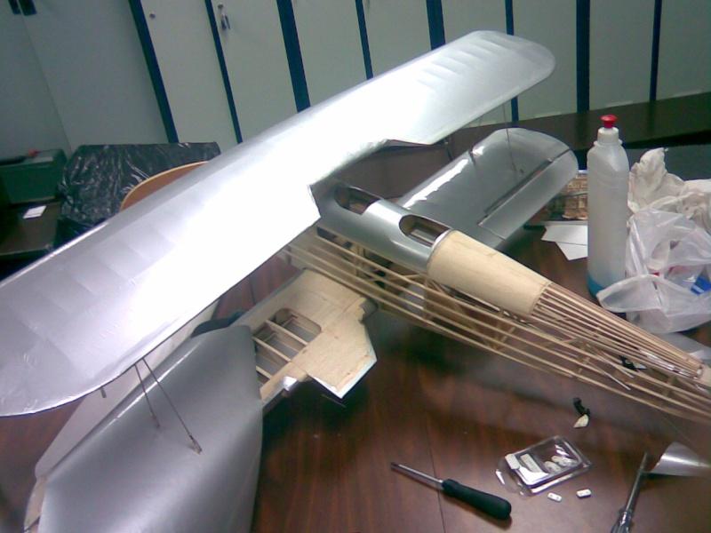 FOTOS SUBIDAS Construcción biplano Hawker Tomtit 1-02-210