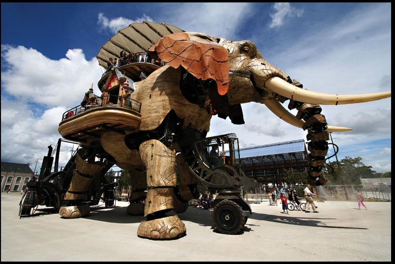 Les machines de l'île. Nantes. France. Elepha10