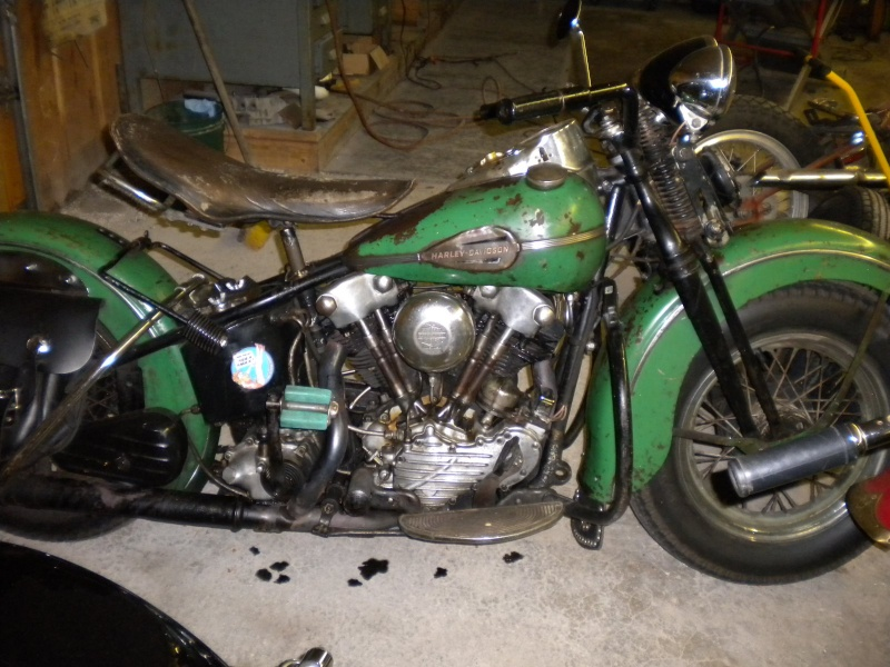 Les vieilles Harley......... (ante 84) - Page 39 Green_10