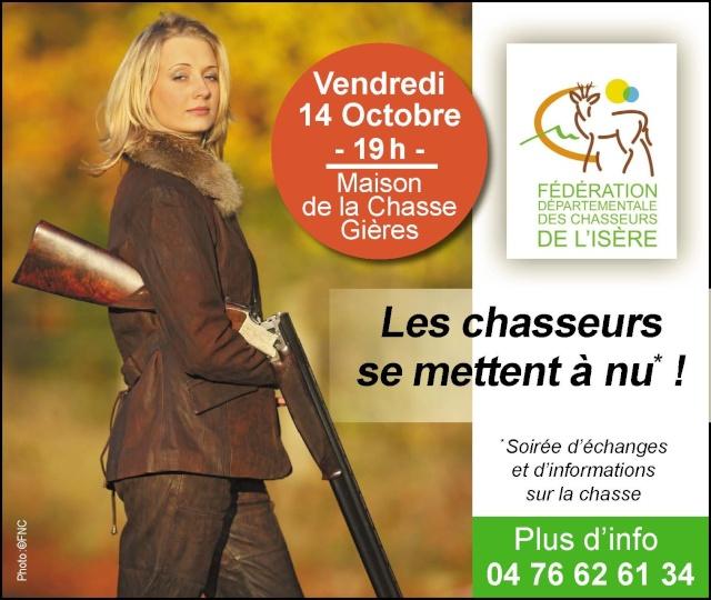 Isère les chasseurs se mettent à nu le 14/10/2011 Pub_dl10