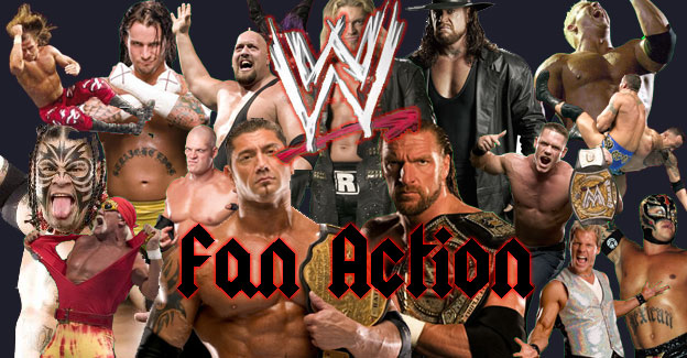 WWE fan-action