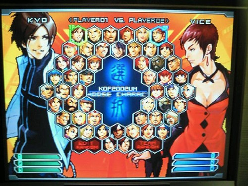 The King of Fighters 2002 Unlimited Match sur Ps2 Kog2k210