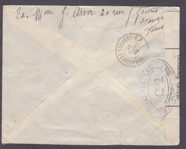 Autre bande  de fermeture utilisée en Guinée Fr en Novembre 1940 _maroc12