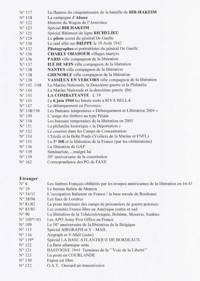 LES PUBLICATIONS DE L'ACTL Index_13