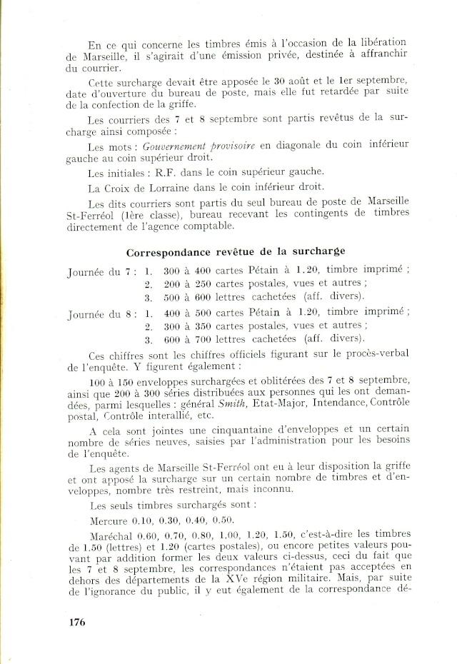"""Timbres surchargés """" RF GOUVERNEMENT PROVISOIRE + Croix de Lorraine """" ? Libera15"""