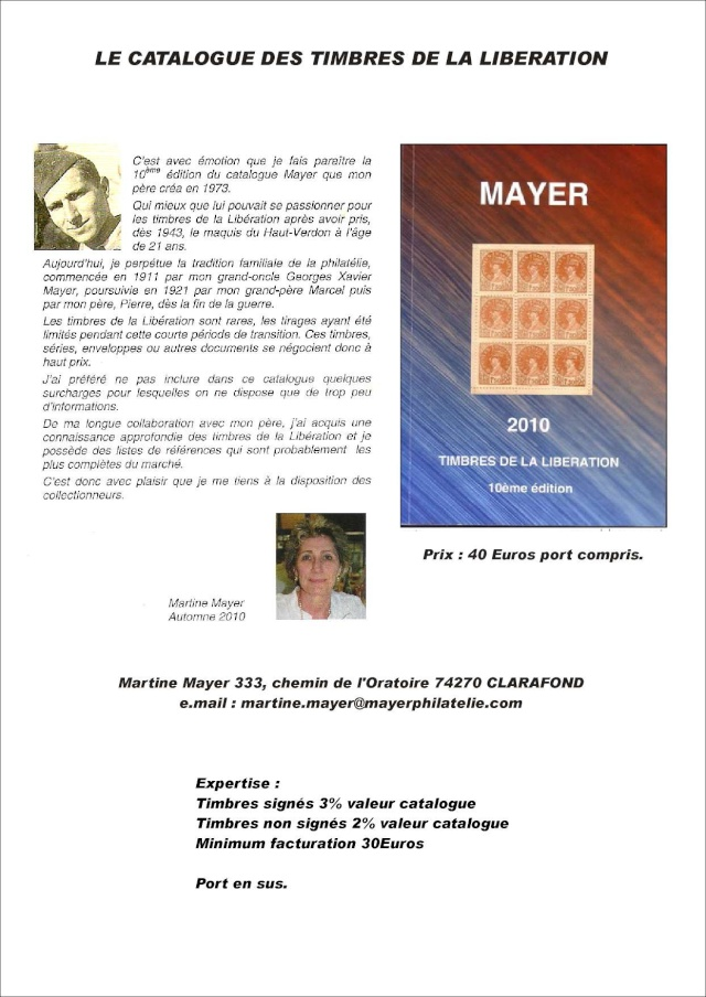 LE CATALOGUE MAYER EDITION 2015 Pub_bu10