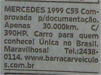Classificados O Globo 4108 Rio