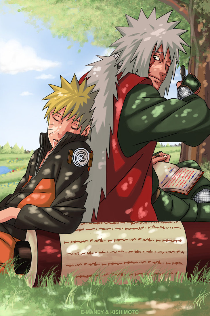 Galerie d'images Naruto - Page 5 Jiraiy10