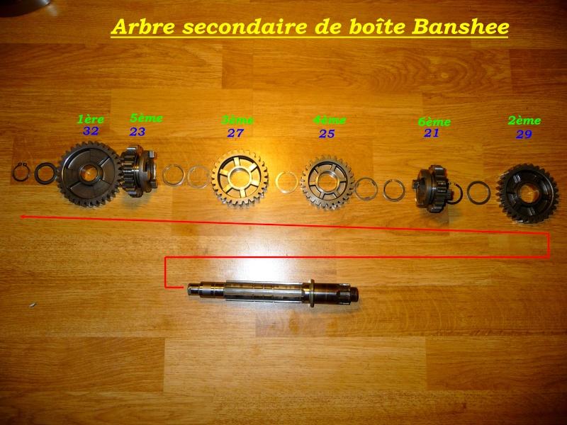 Boite de vitesse Banshee / RDLC + boite longue et courte Second10