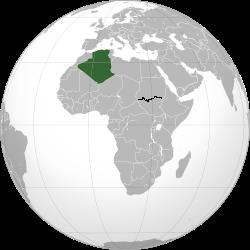 L Algerie Le Plus Grand Pays D Afrique Apres La Naissance Du Sud
