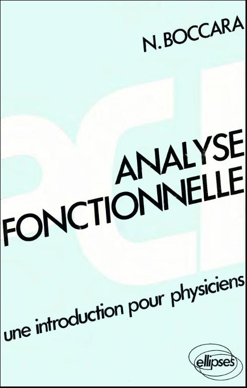 كتاب Analyse fonctionnelle 08-11-14