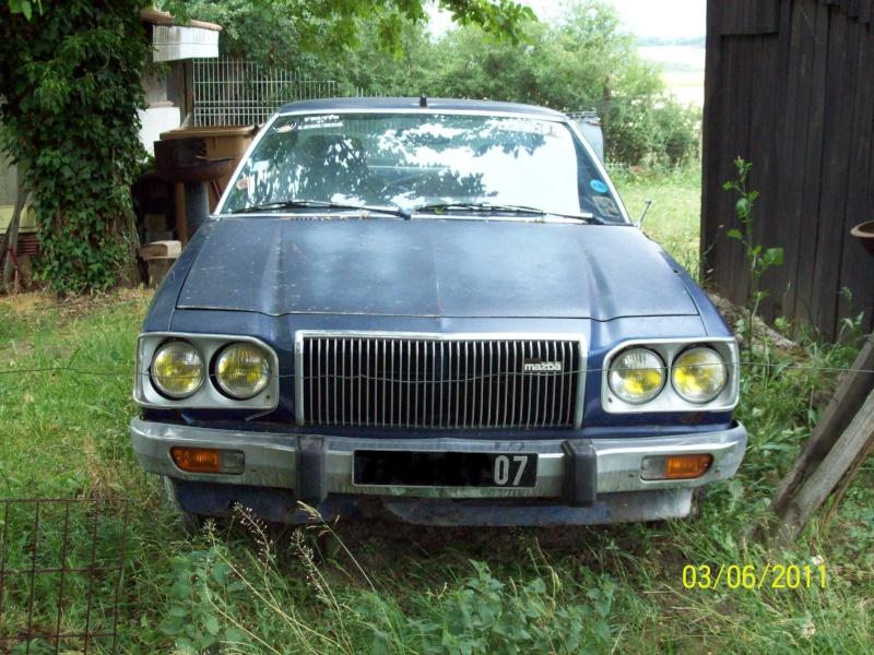 [MAZDA 121] Mazda 121 coupé de 1977 du Sud ! 100_1910