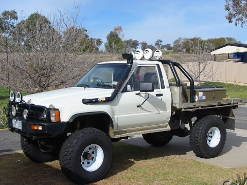 Galerie photos PICK UP  2WD & 4WD 1985-t10